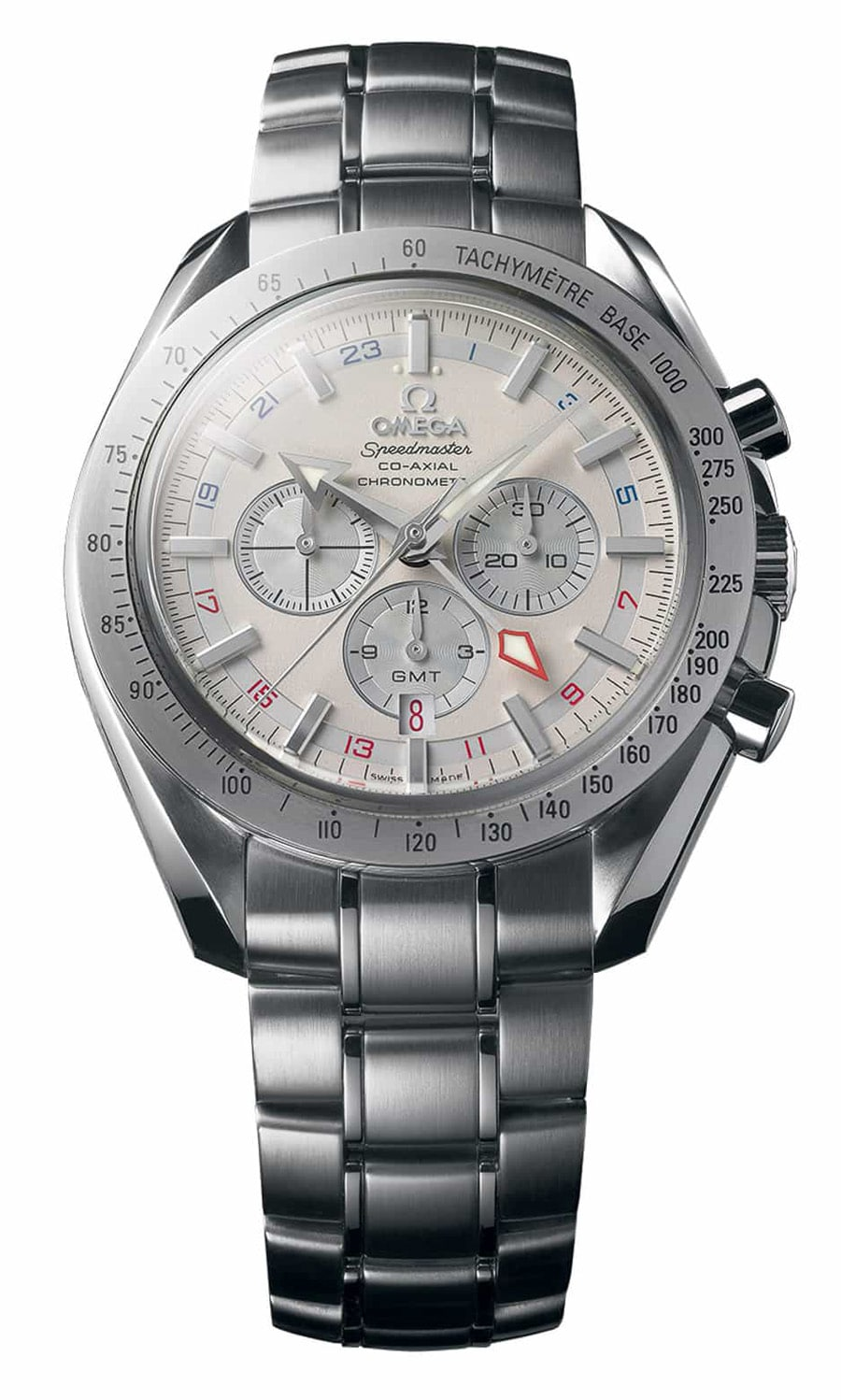 Omega Speedmaster Co Axial GMT 2005