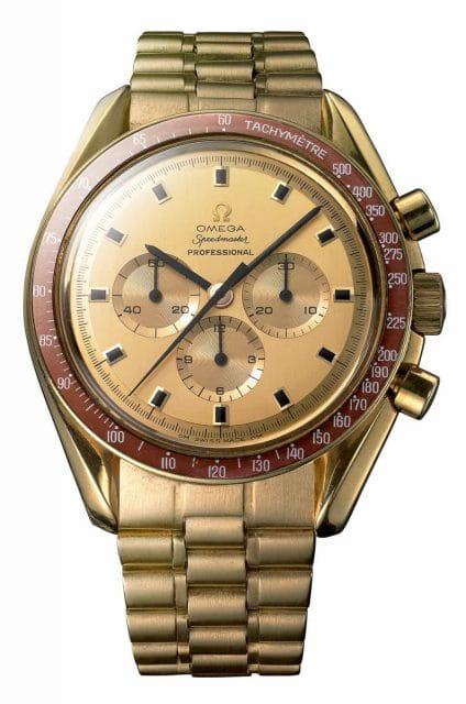 Omega Speedmaster goldene Sonderedition 1969