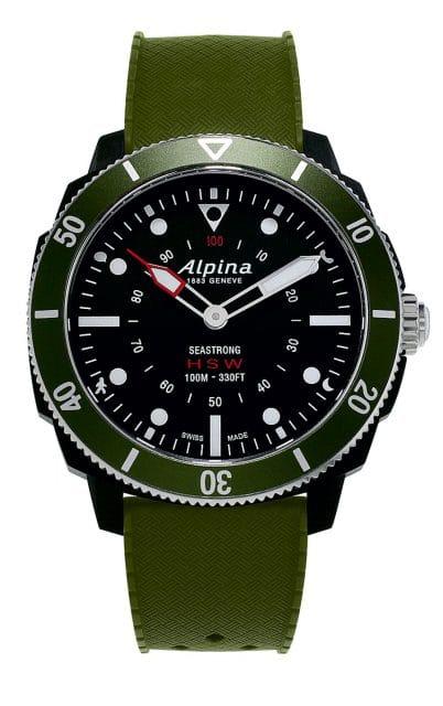 Gut getarnte Smartwatch: Alpina Seastrong Horological