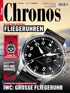 Chronos 01.2018 mit Schwerpunkt Fliegeruhren