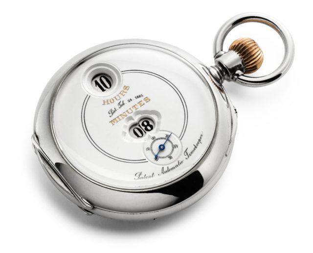 Historische Uhr aus dem 19. Jahrhundert von Josef Pallweber
