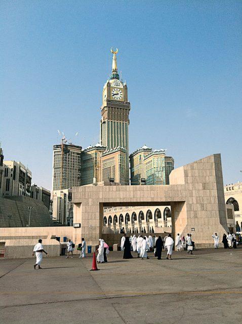 Größtes Zifferblatt der Welt: Mecca Royal Clock Tower