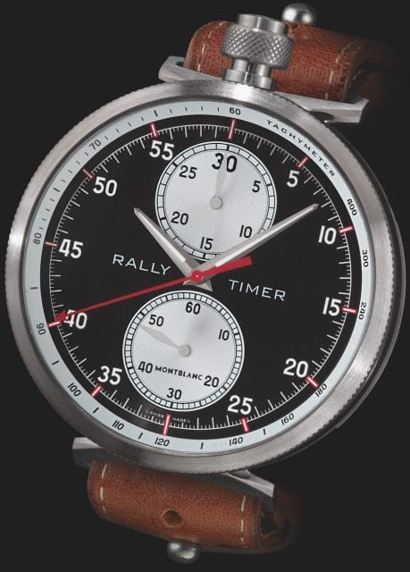 Montblanc: TimeWalker Rally Timer Chronograph Limited Edition 100