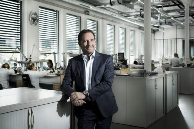 Julien Tornare, CEO von Zenith