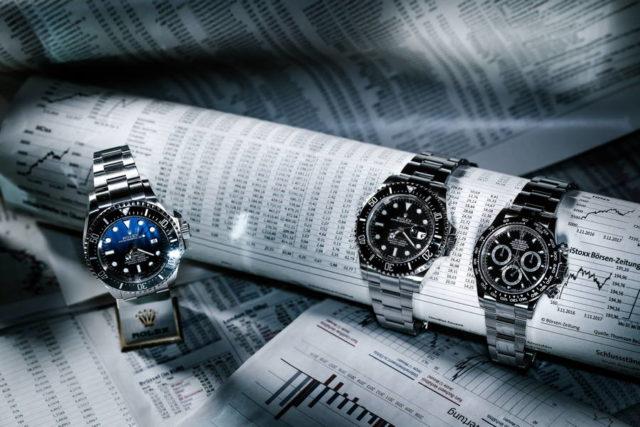 Rolex Deepsea D-Blue, Sea-Dweller und Daytona
