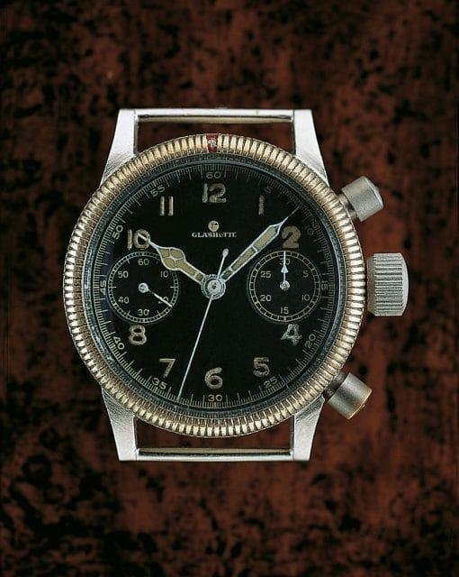 Tutima: Fliegerchronograph aus den 1940er Jahren