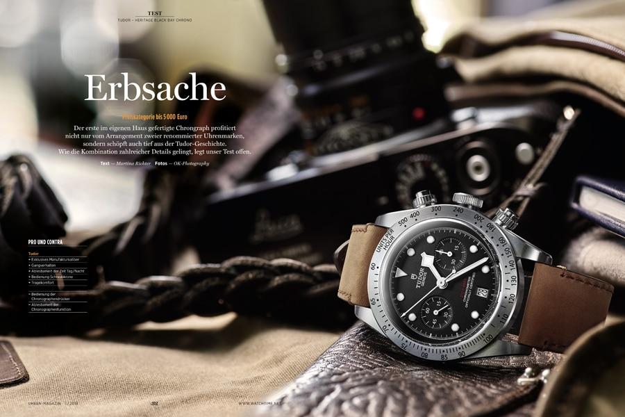 UHREN-MAGAZIN: Tudor Black Bay Chronograph im Test