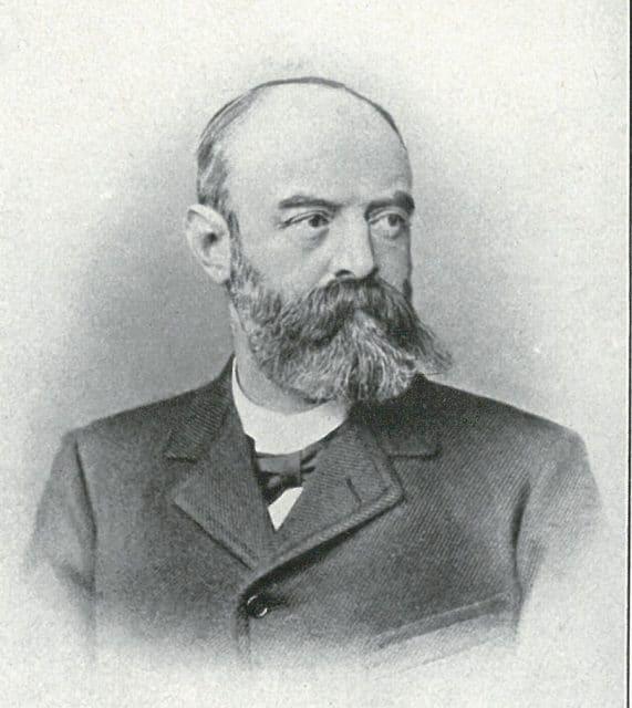 Gründer von Union Glashütte: Johannes Dürrstein
