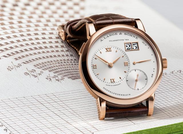A. Lange & Söhne: Uhrenikone Lange 1