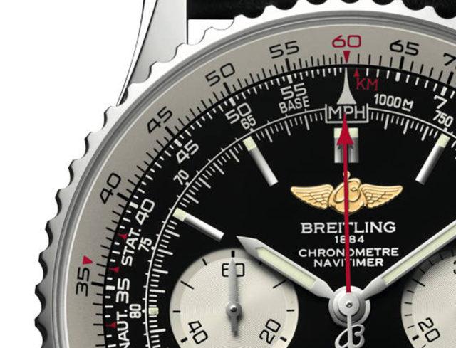 Breitling: Navitimer Rechenschieber