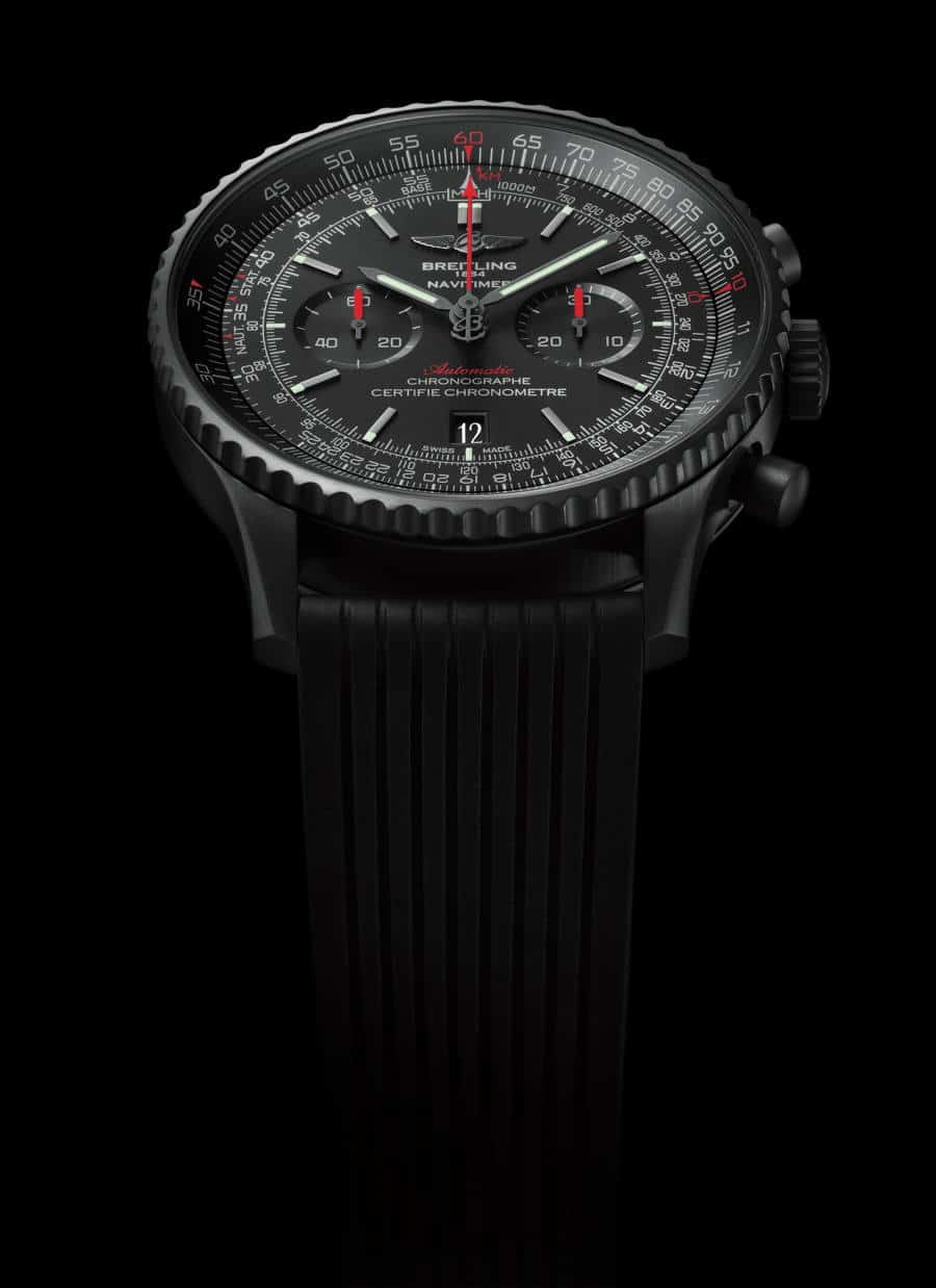 Breitling: Navitimer Blacksteel Sonderedition