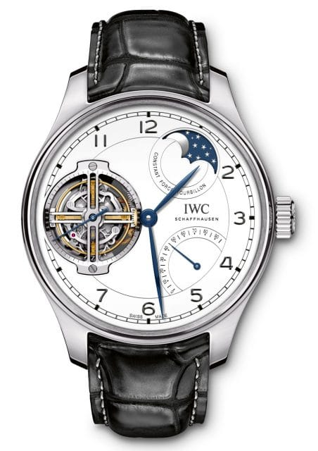 "IWC: Portugieser Constant-Force Tourbillon Edition ""150 Years"""