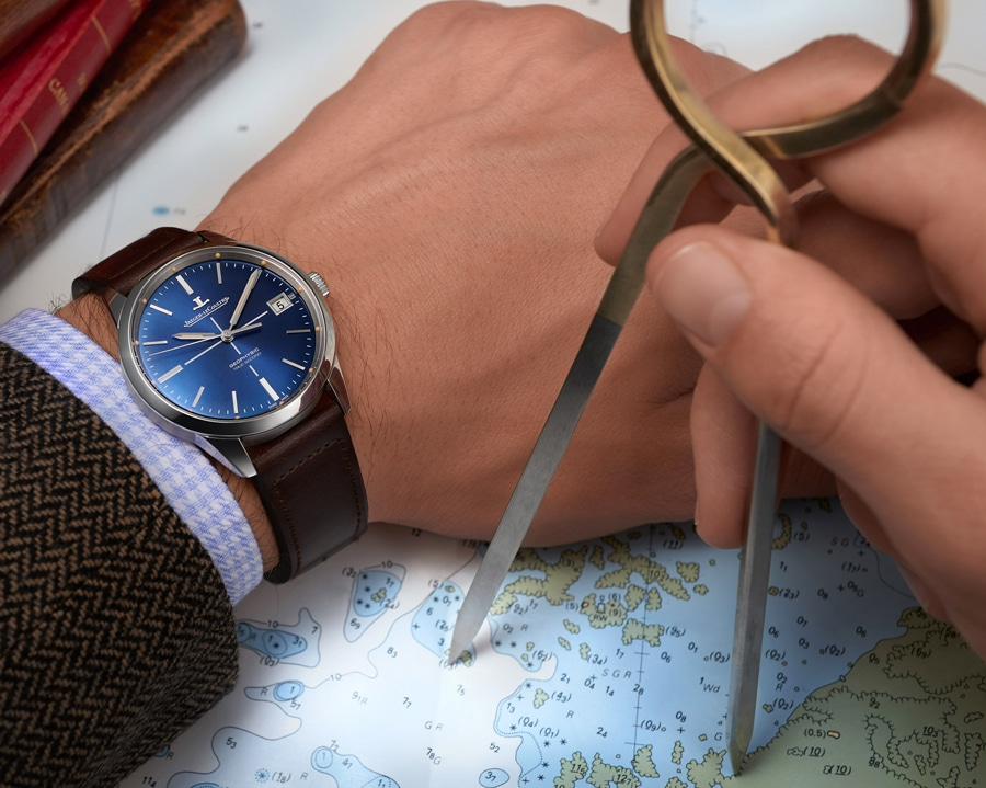 Jaeger LeCoultre: Geophysic True Second Limited Edition am Handgelenk