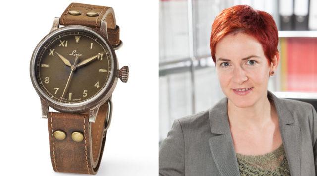 Laco Erbstück California ist die Uhr des Jahres für Gwendolyn Benda, Transaction Editor Watchtime.net