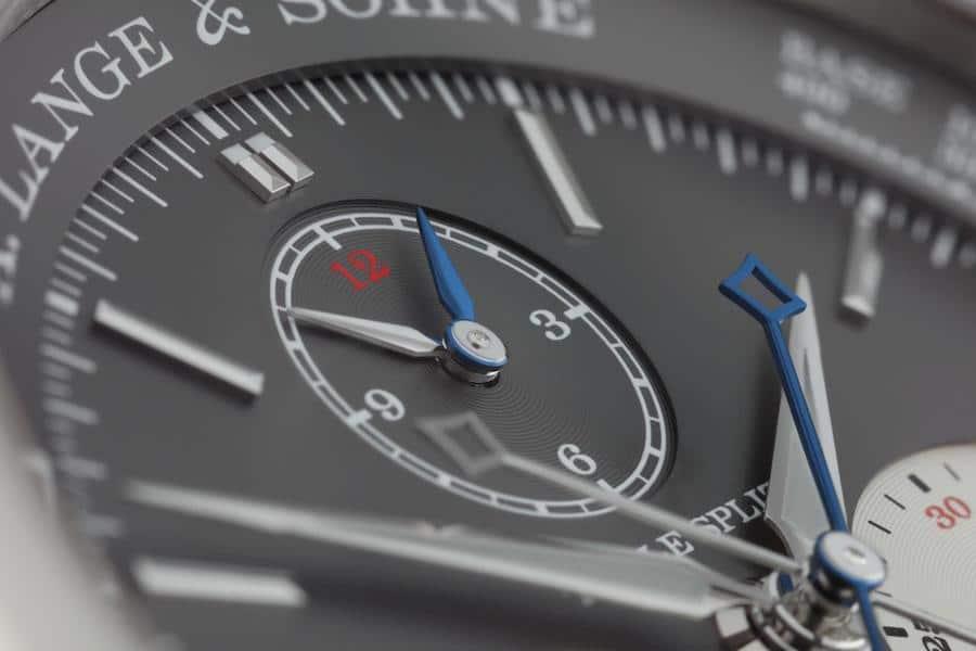 Der Triple Split ermöglicht Zwischenzeitmessungen bis zu zwölf Stunden.