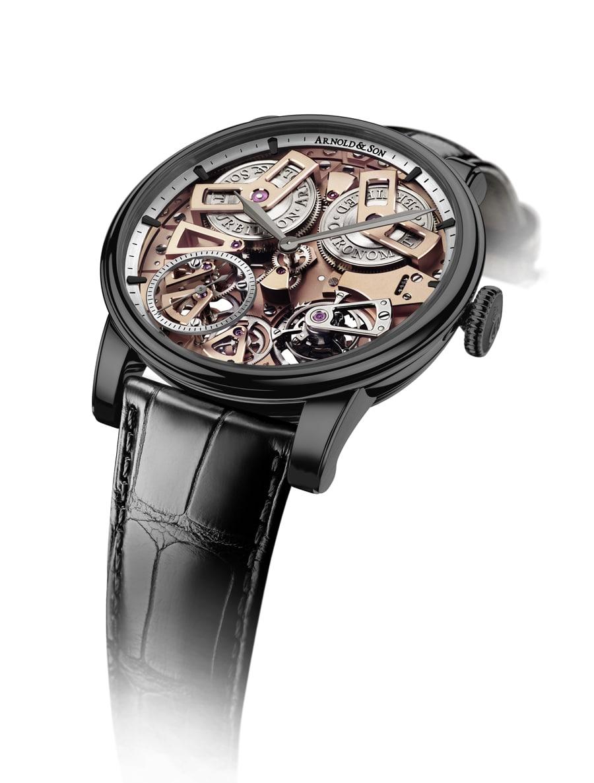 Arnold & Son Tourbillon Chronometer No. 36 Gunmetal-Grau