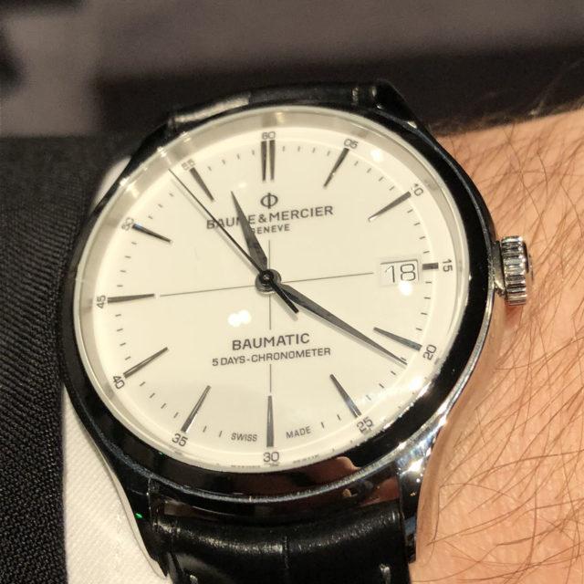 Baume & Mercier: Clifton Baumatic 5 Days Chronometer