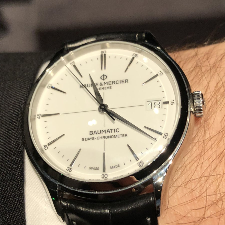 Baume & Mercier: Clifton Baumatic 5 Days Chronometer
