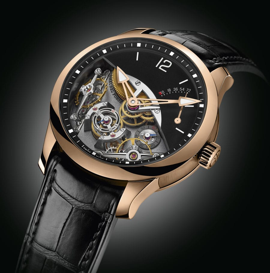 Greubel Forsey: Double Balancier in Rotgold