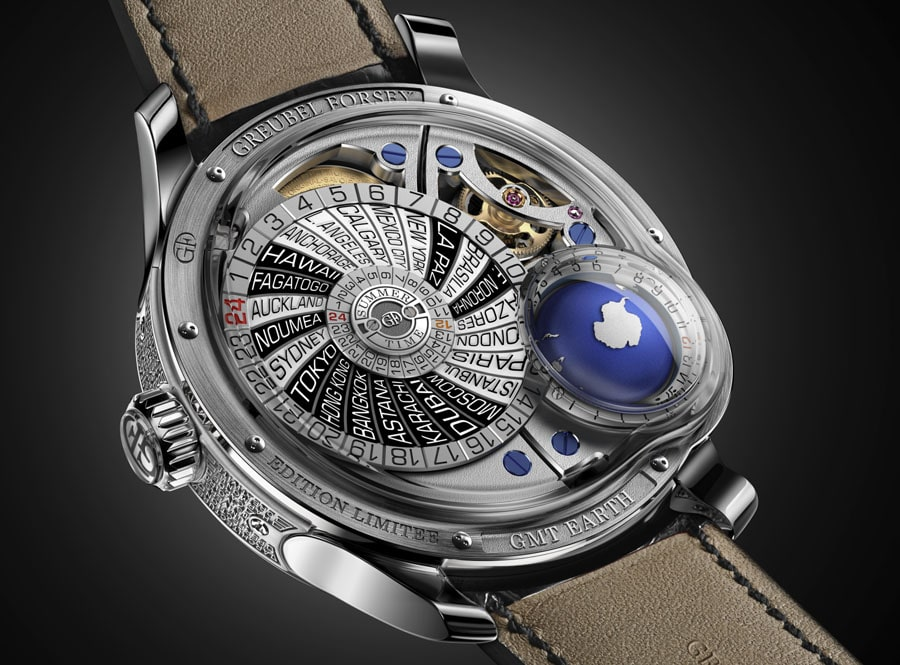 Greubel Forsey: GMT Earth, 24 Zeitzonen