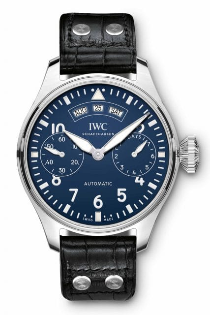 "IWC: Big Pilot's Watch Annual Calendar Edition ""150 Years"""