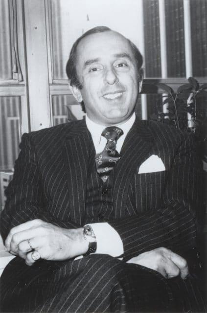 Er war der Erfinder der Heuer Carrera: Jack Heuer, hier auf einem Foto von 1974.