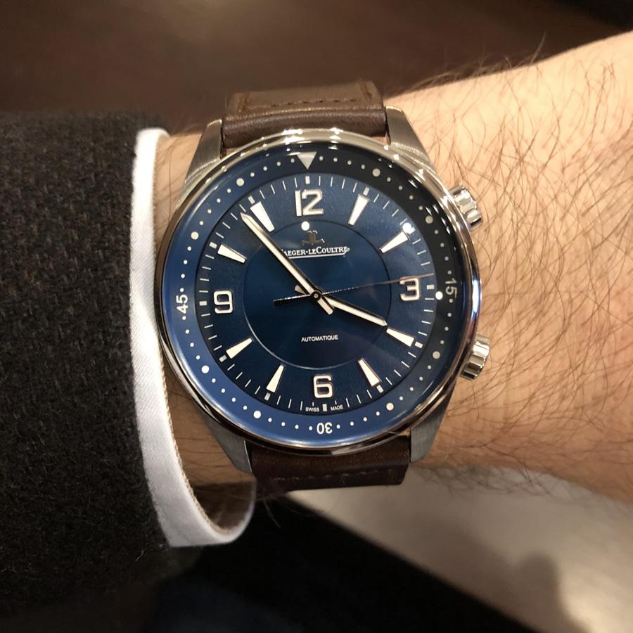 Live-Bild vom Genfer Uhrensalon SIHH 2018: Wristshot der Polaris Automatic von Jaeger-LeCoultre