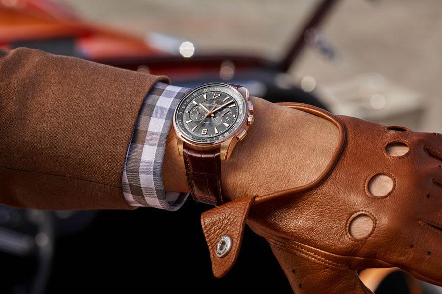 Jaeger-LeCoultre Polaris Chronograph in Rotgold