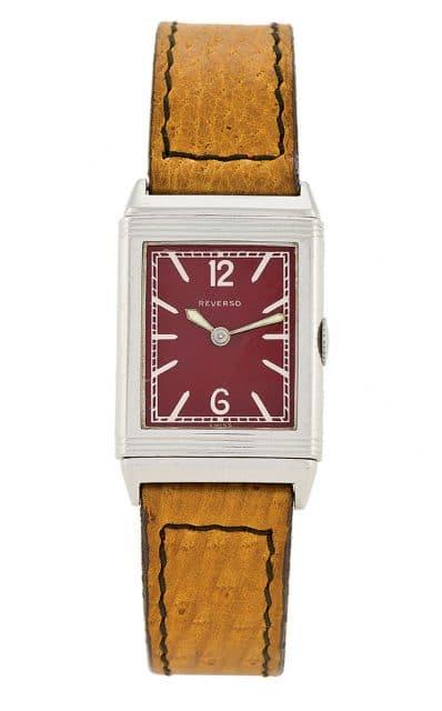 Jaeger-LeCoultre: Reverso, hergestellt von Tavannes Watch & Co., 1931