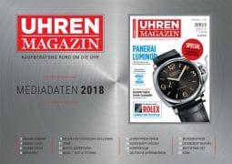 Mediadaten UHREN-MAGAZIN 2018