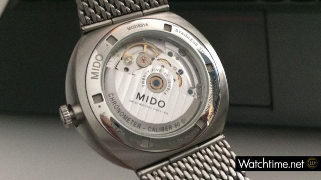 Das Uhrwerk der Mido Commander Icône