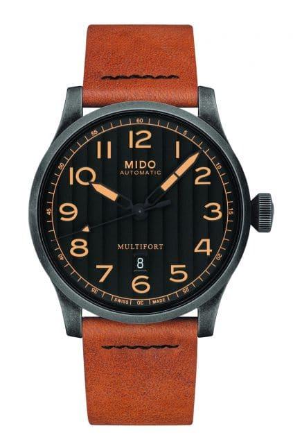 Mido: Multifort Escape Horween Special Edition mit braunem Horween-Lederband