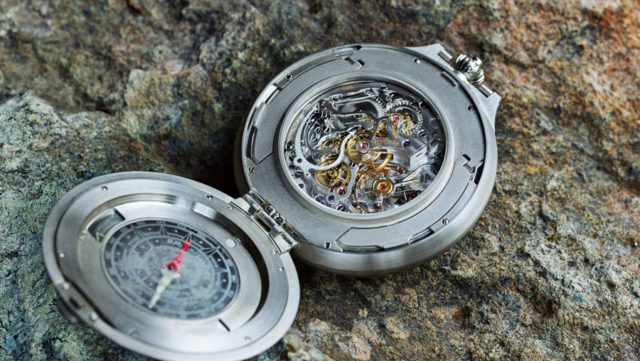 Montblanc: 1858 Pocket Watch Limited Edition 100 Rückseite