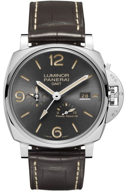 Panerai Luminor Due 3 Days GMT Power Reserve Automatic Acciaio – 45 mm