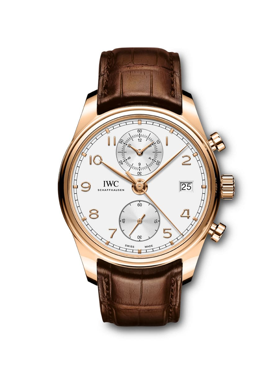 IWC: Portugieser Chronograph Classic in Roségold