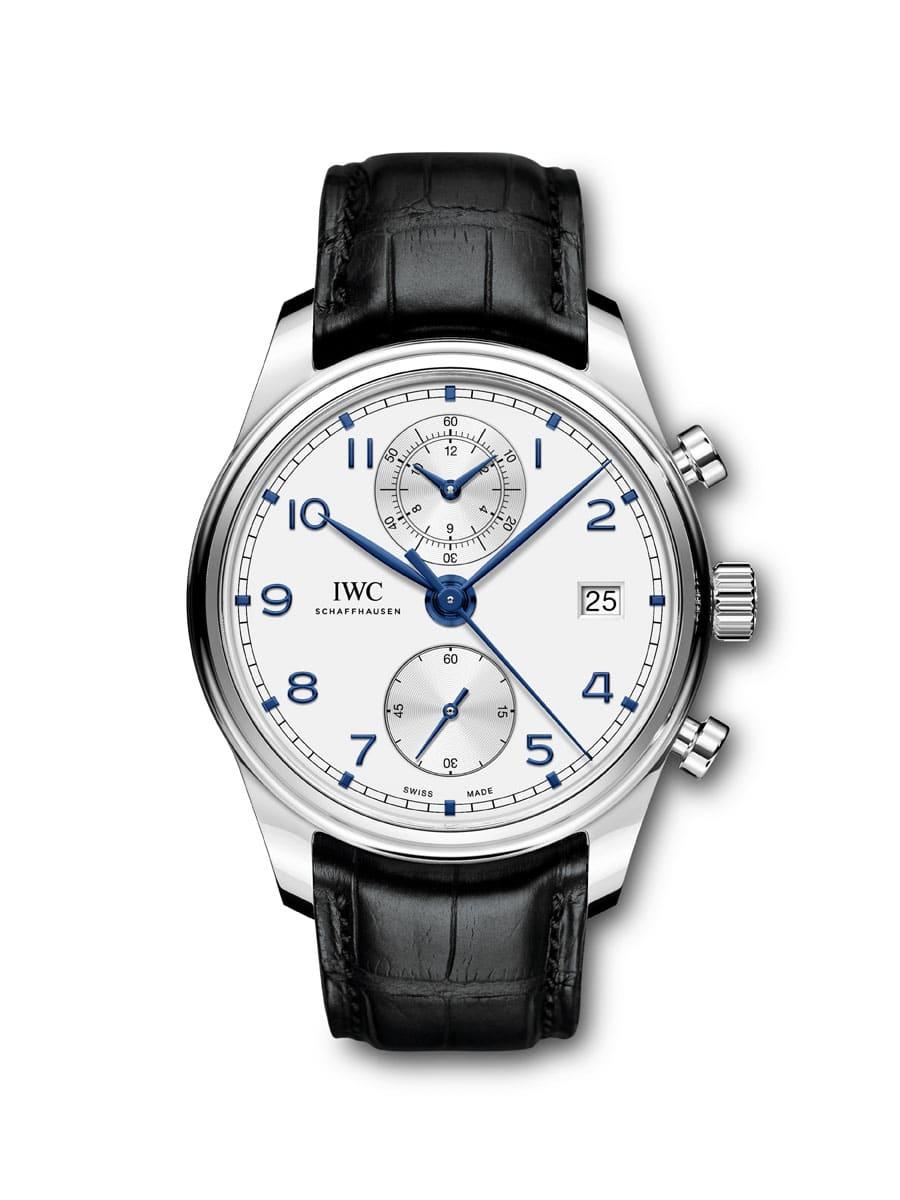 IWC: Portugieser Chronograph Classic in Edelstahl