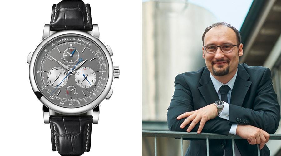 Die A. Lange & Söhne Triple Split ist der Favorit von Roger Ruegger, Chefredakteur WatchTime USA.