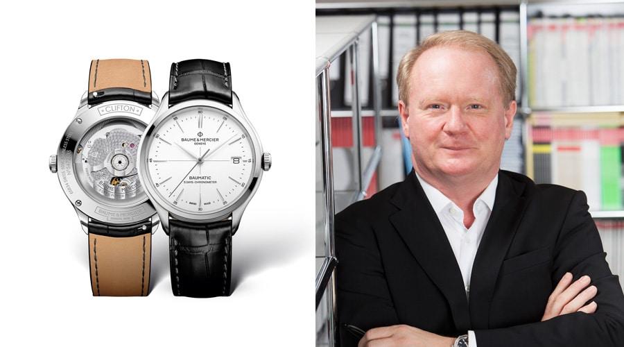 Thomas Wanka, Chefredakteur UHREN-MAGAZIN, ernennt die Clifton Baumatic von Baume & Mercier zum Highlight der Messe.