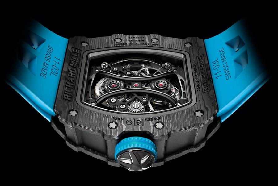 Auf 30 Stück limitiert ist die neue RM 53-01 Tourbillon Pablo Mac Donough von Richard Mille