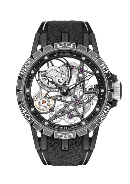 Roger Dubuis Excalibur Spider Pirelli – Automatic Skeleton
