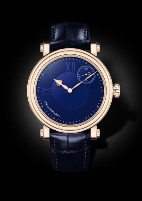 Speake-Marin: One & Two Academic in Rotgold