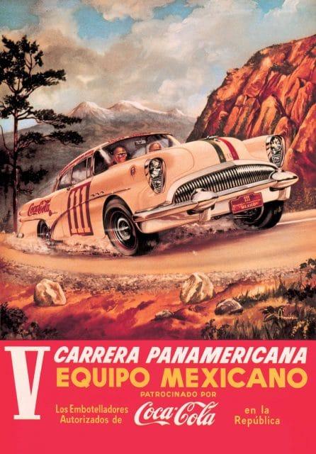 Original-Plakat der Carrera Panamericana aus dem Archiv von TAG Heuer