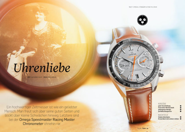 Von Chronos getestet: Omega Speedmaster Racing Master Chronometer