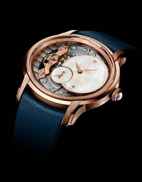 Audemars Piguet: Millenary Frosted Gold