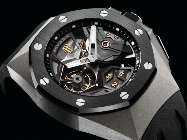 Audemars Piguet: Royal Oak Concept Flying Tourbillon GMT