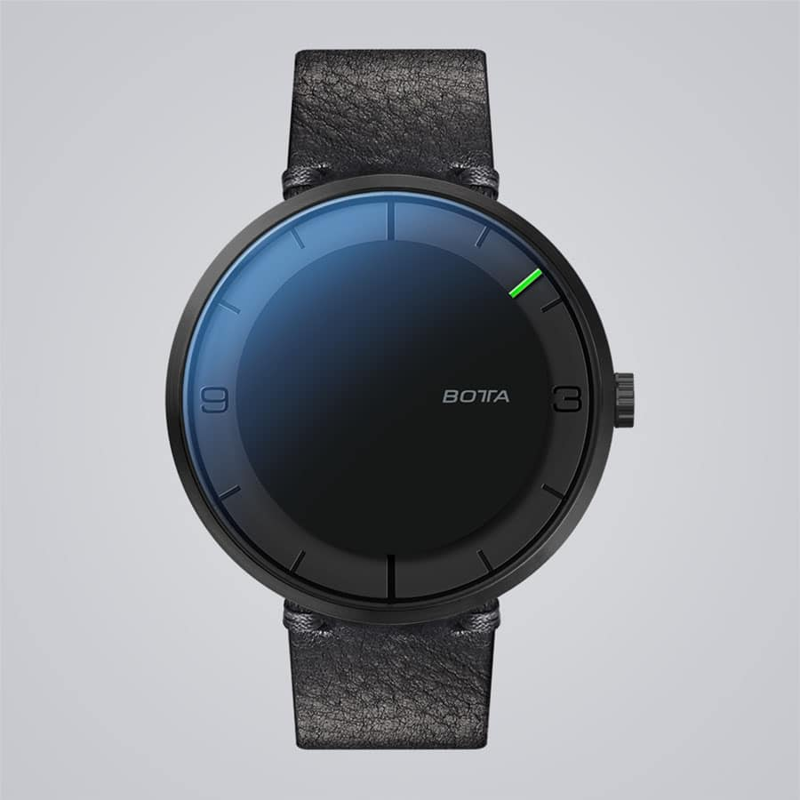 Botta-Design: Nova Plus Carbon All Black Automatik