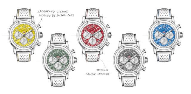 Die Mille Miglia von Chopard erscheint in neuen Racing Colours.