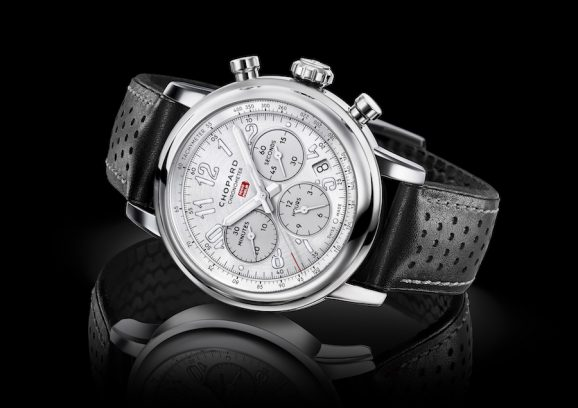 Die Mille Miglia Racing Colours von Chopard in Grau.