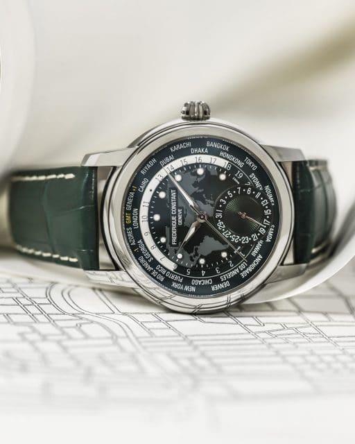 Frederique Constant: Classic Worldtimer Manufacture