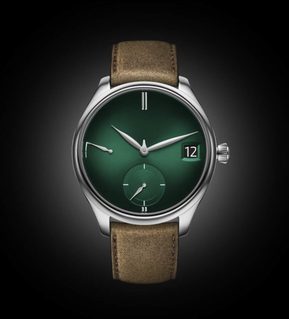 H. Moser & Cie. Endeavour Perpetual Calendar Purity Cosmic Green